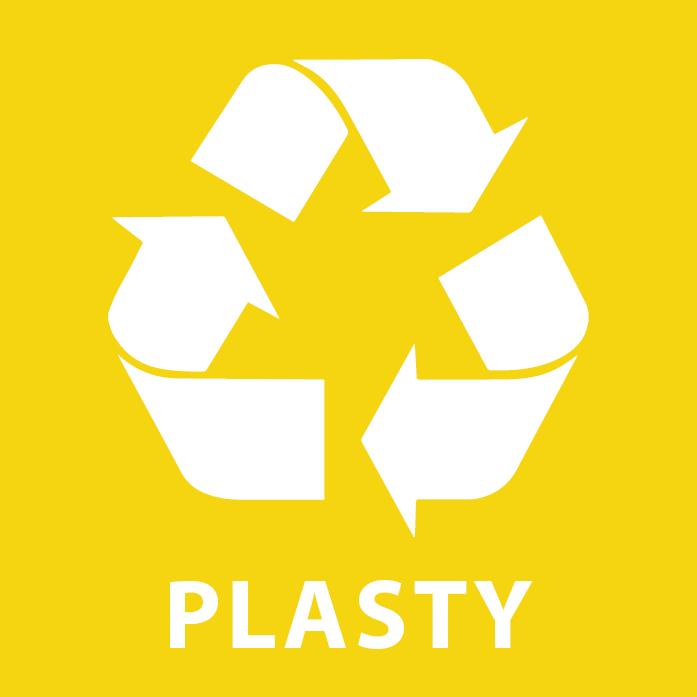 Len správe vytriedený odpad dostáva druhú šancu.  Plasty sú vhodným materiálom na recykláciu.